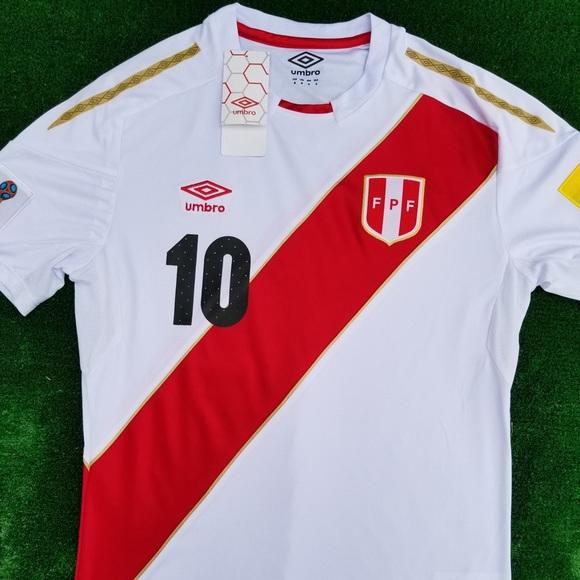 9a8d6e69f 2018 Peru soccer jersey Farfán